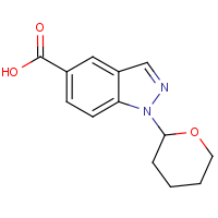 1-(Tetrahydro-2H-pyran-2-yl)-1H-indazole-5-carboxylic acid