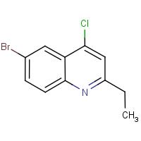 6-Bromo-4-chloro-2-ethylquinoline