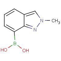 (2-Methyl-2H-indazol-7-yl)boronic acid