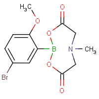 2-(5-Bromo-2-methoxyphenyl)-6-methyl-1,3,6,2-dioxazaborocane-4,8-dione