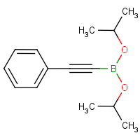 (Phenylethynyl)boronic acid, bis(isopropyl) ester