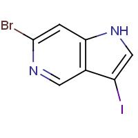 6-Bromo-3-iodo-1H-pyrrolo[3,2-c]pyridine 99%