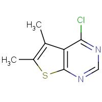 4-Chloro-5,6-dimethylthieno[2,3-d]pyrimidine