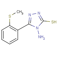 4-Amino-5-(2-methylsulfanyl-phenyl)-4H-[1,2,4]triazole-3-thiol