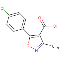 5-(4-Chloro-phenyl)-3-methyl-isoxazole-4-carboxylic acid