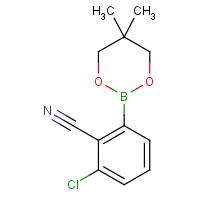 3-Chloro-2-cyanophenylboronic acid neopentyl glycol ester