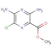 Methyl 6-chloro-3,5-diaminopyrazine-2-carboxylate