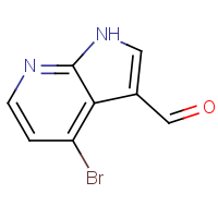 4-Bromo-1H-pyrrolo[2,3-b]pyridine-3-carbaldehyde