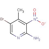 2-Amino-5-bromo-4-methyl-3-nitropyridine 98%