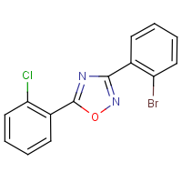 3-(2-Bromophenyl)-5-(2-chlorophenyl)-1,2,4-oxadiazole