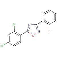 3-(2-Bromophenyl)-5-(2,4-dichlorophenyl)-1,2,4-oxadiazole