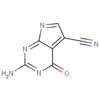 2-Amino-4-oxo-4H-pyrrolo[2,3-d]pyrimidine-5-carbonitrile