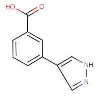 3-(1H-Pyrazol-4-yl)benzoic acid 95%