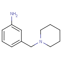 3-[(Piperidin-1-yl)methyl]aniline