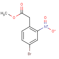 Methyl 4-bromo-2-nitrophenylacetate 97%