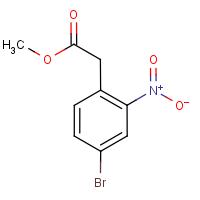 Methyl 4-bromo-2-nitrophenylacetate 97%