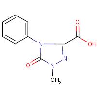 4,5-Dihydro-1-methyl-5-oxo-4-phenyl-1H-1,2,4-triazole-3-carboxylic acid