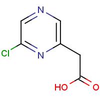 (6-Chloropyrazin-2-yl)acetic acid