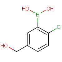 2-Chloro-5-(hydroxymethyl)benzeneboronic acid