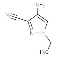 4-Amino-1-ethyl-1H-pyrazole-3-carbonitrile