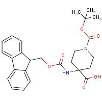1-Boc-4-(Fmoc-amino)-4-piperidinecarboxylic acid