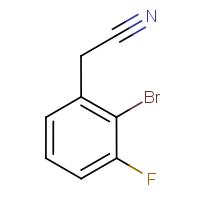 2-Bromo-3-fluorophenylacetonitrile