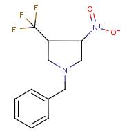 1-Benzyl-3-nitro-4-(trifluoromethyl)pyrrolidine