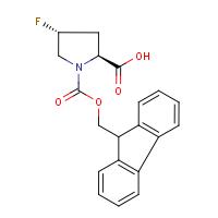 (2S,4R)-4-Fluoropyrrolidine-2-carboxylic acid, N-FMOC protected
