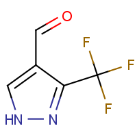 3-(Trifluoromethyl)-1H-pyrazole-4-carboxaldehyde