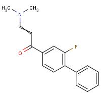 3-(Dimethylamino)-1-(2-fluorobiphenyl-4-yl)prop-2-en-1-one