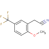 2-Methoxy-5-(trifluoromethyl)phenylacetonitrile