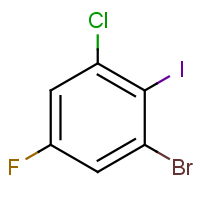 2-Bromo-6-chloro-4-fluoroiodobenzene