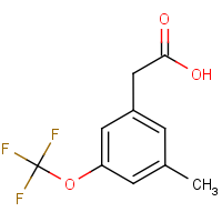 3-Methyl-5-(trifluoromethoxy)phenylacetic acid