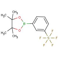 3-([Pentafluorothio)benzeneboronic acid, pinacol ester