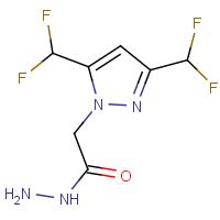 2-[3,5-Bis(difluoromethyl)-1H-pyrazol-1-yl]acetohydrazide