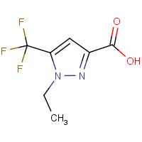 1-Ethyl-5-(trifluoromethyl)-1H-pyrazole-3-carboxylic acid