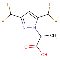 2-[3,5-Bis(difluoromethyl)-1H-pyrazol-1-yl]propanoic acid