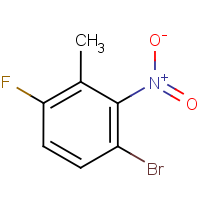 3-Bromo-6-fluoro-2-nitrotoluene