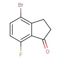 4-Bromo-7-fluoroindan-1-one