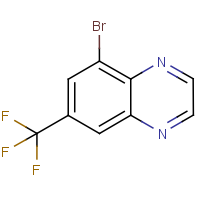 5-Bromo-7-(trifluoromethyl)quinoxaline