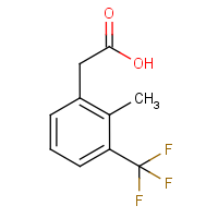 2-Methyl-3-(trifluoromethyl)phenylacetic acid