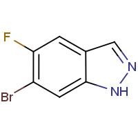 6-Bromo-5-fluoro-1H-indazole
