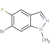 6-Bromo-5-fluoro-1-methyl-1H-indazole