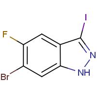 6-Bromo-5-fluoro-3-iodo-1H-indazole