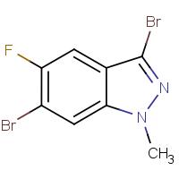 3,6-Dibromo-5-fluoro-1-methyl-1H-indazole