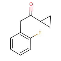 1-Cyclopropyl-2-(2-fluorophenyl)ethan-1-one