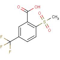 2-(Methylsulphonyl)-5-(trifluoromethyl)benzoic acid