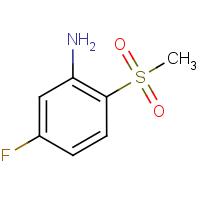 5-Fluoro-2-(methylsulphonyl)aniline