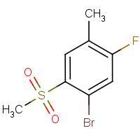4-Bromo-2-fluoro-5-(methylsulphonyl)toluene