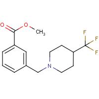 Methyl 3-{[4-(trifluoromethyl)piperidin-1-yl]methyl}benzoate